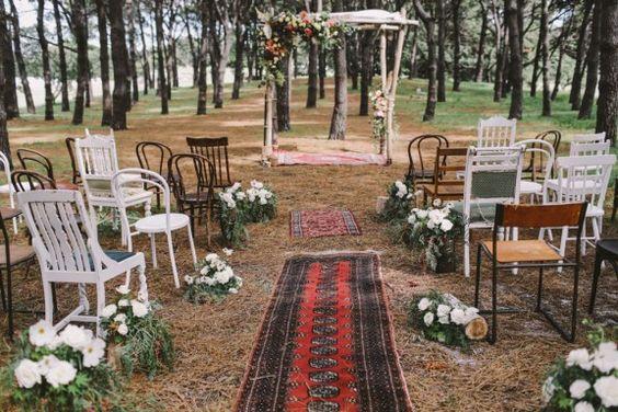 assises ceremonie laique chaises divers