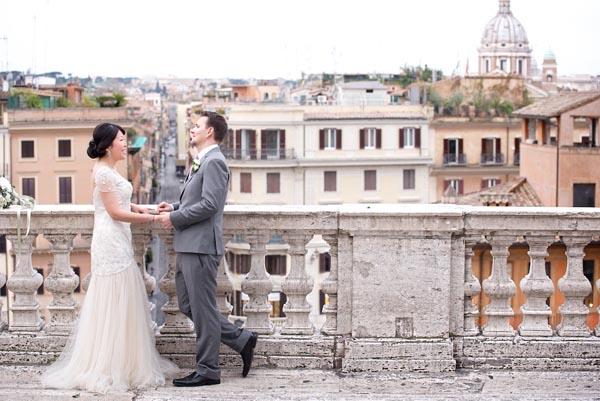 Elopement mariage rome