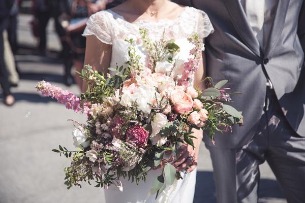décoration fleurs cérémonie laïque