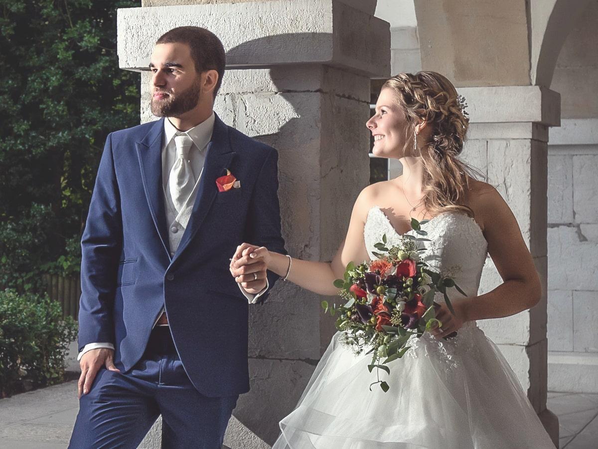 Mariage laïque de sarah et david