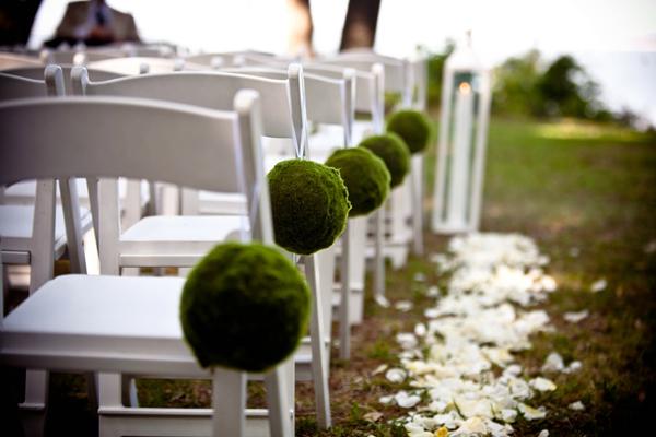 chaises décoration cérémonie laïque
