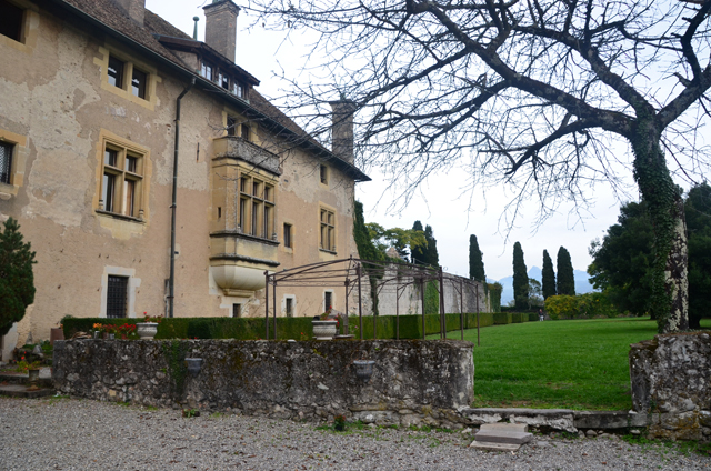 chateau ripaille jardin