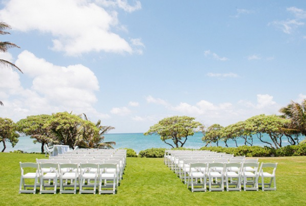 disposer les chaises cérémonie laïque chaises alignees