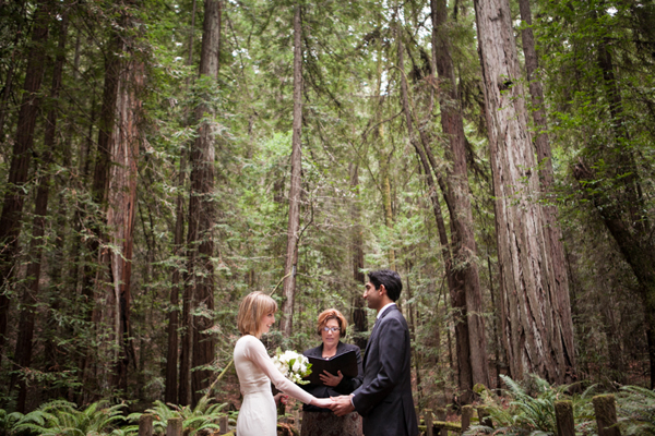 Elopement mariage forêt