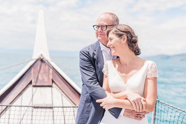 cérémonie mariage bateau