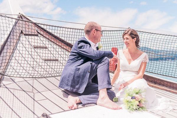 elopement cérémonie bateau