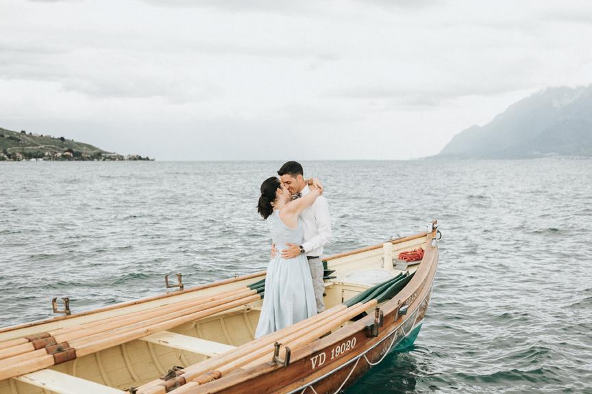 séance couple lac léman