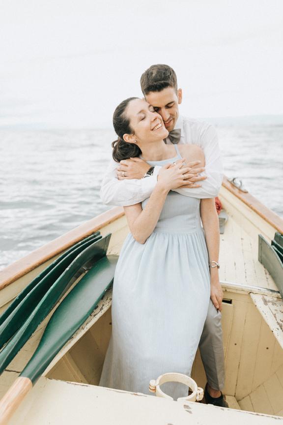 séance couple barque