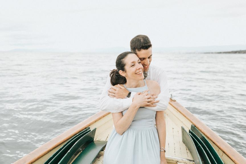 séance couple bateau