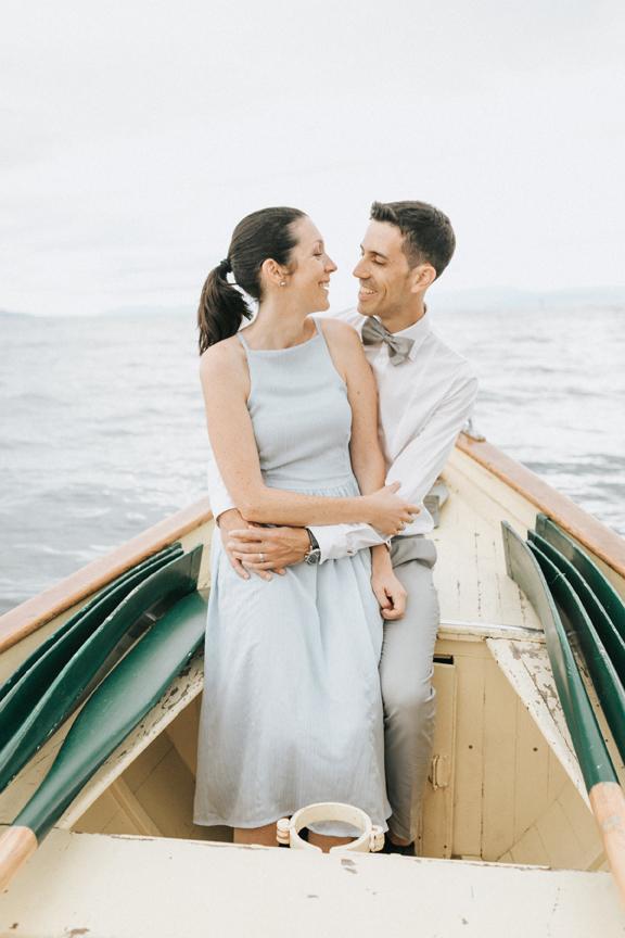 shooting amoureux bateau
