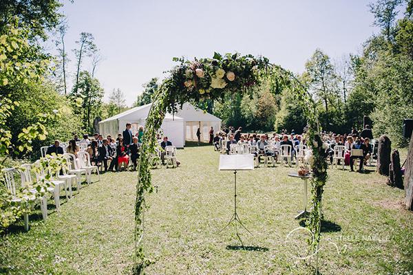 lieu cérémonie laïque nature