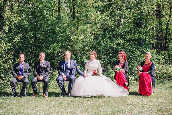 mariage laïque nature