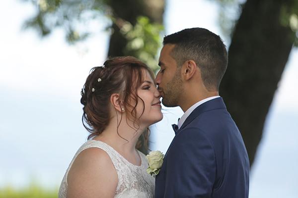 cérémonie laïque baiser