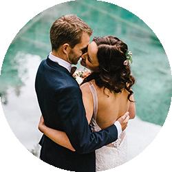 wedding ceremony blausee