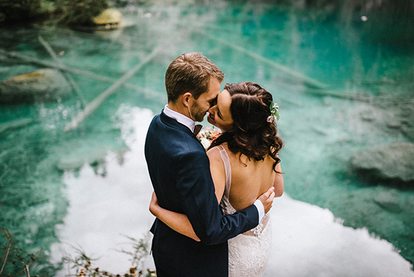 An Intimate Wedding in Blausee (+Video)