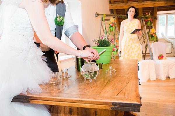 cérémonie mariage laïque originale colorée