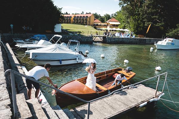 wedding ceremony lake geneva