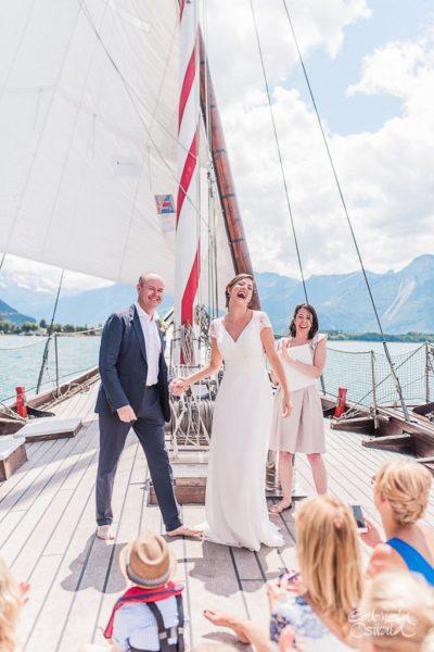 elopement boat lake geneva