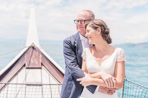 elopement ceremony boat