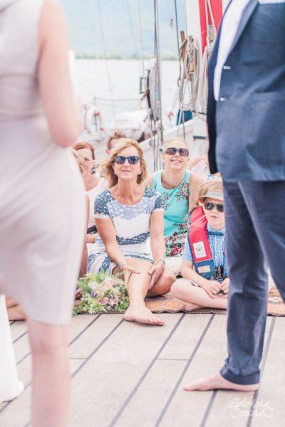 elopement wedding ceremony boat