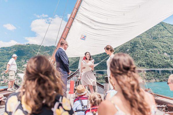 wedding ceremony boat