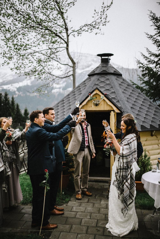 Une cérémonie de mariage comme elopement