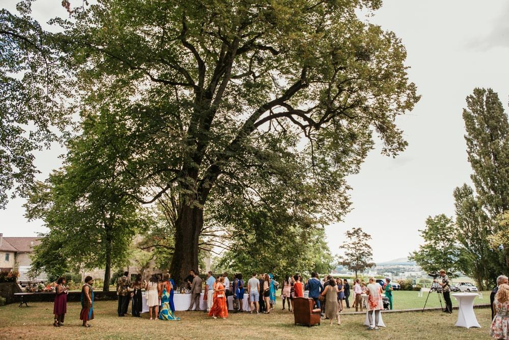 Cérémonie de mariage laïque à Genève