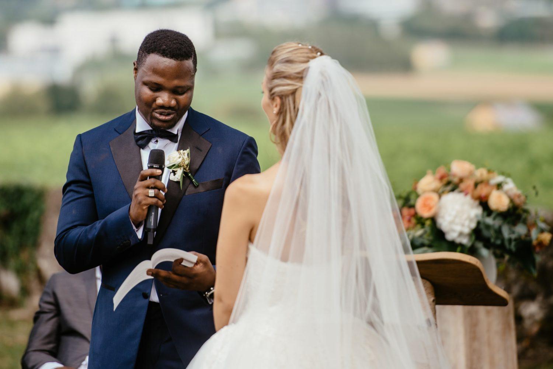 Cérémonie multiculturelle de mariage à Genève