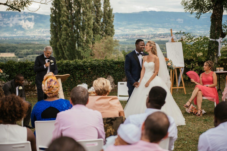 Cérémonie de mariage multiculturelle à genève