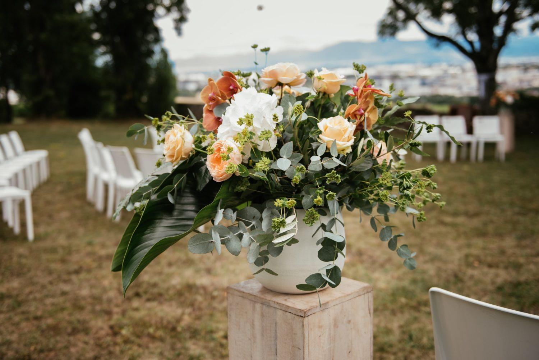 Décoration de cérémonie laïque à Genève