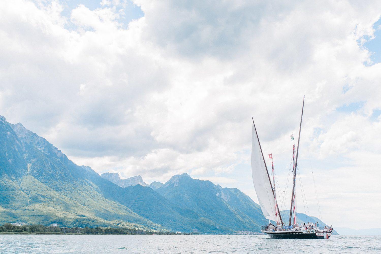Elopement mariage sur un bateau