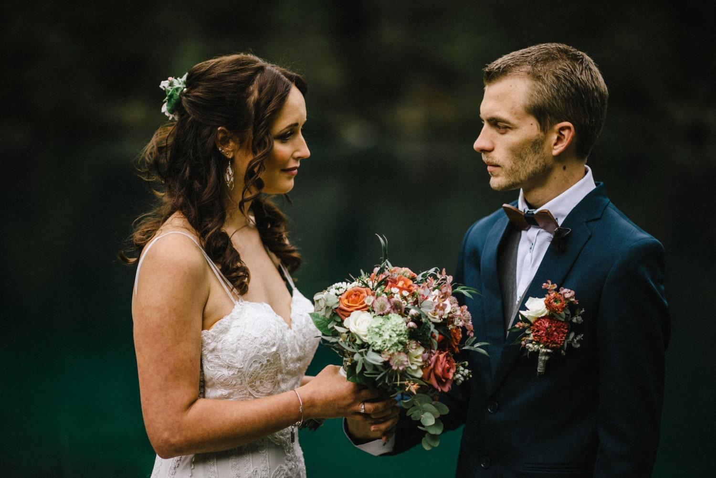 Mariage et cérémonie à Blausee