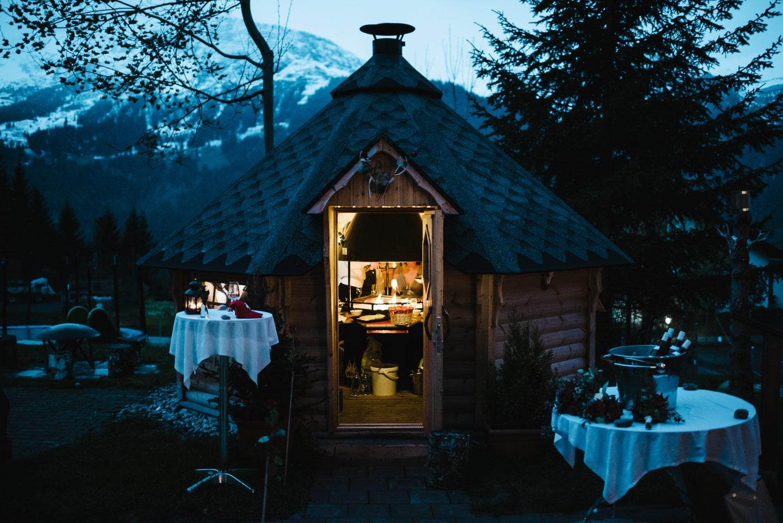 Un mariage en toute intimité en Suisse