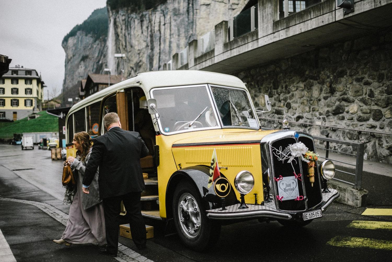 Un mariage original en Suisse