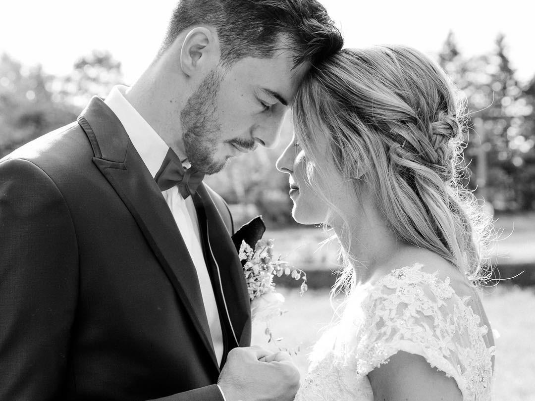 Un mariage beau et magique