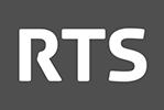 Logo RTS English
