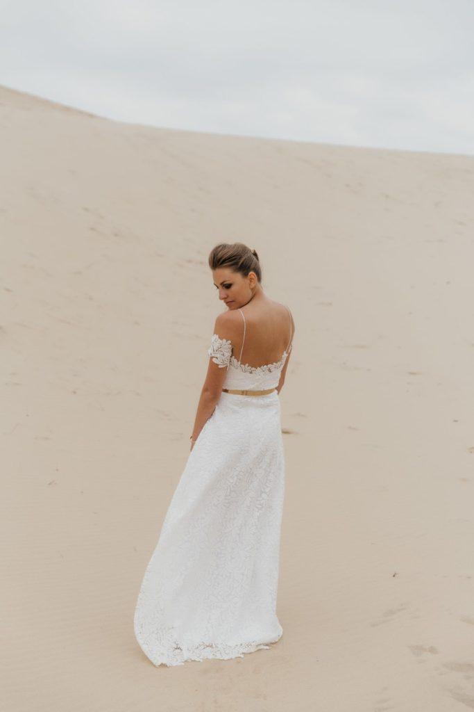 Robe de mariée écologique