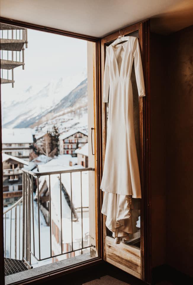 Zermatt wedding dress