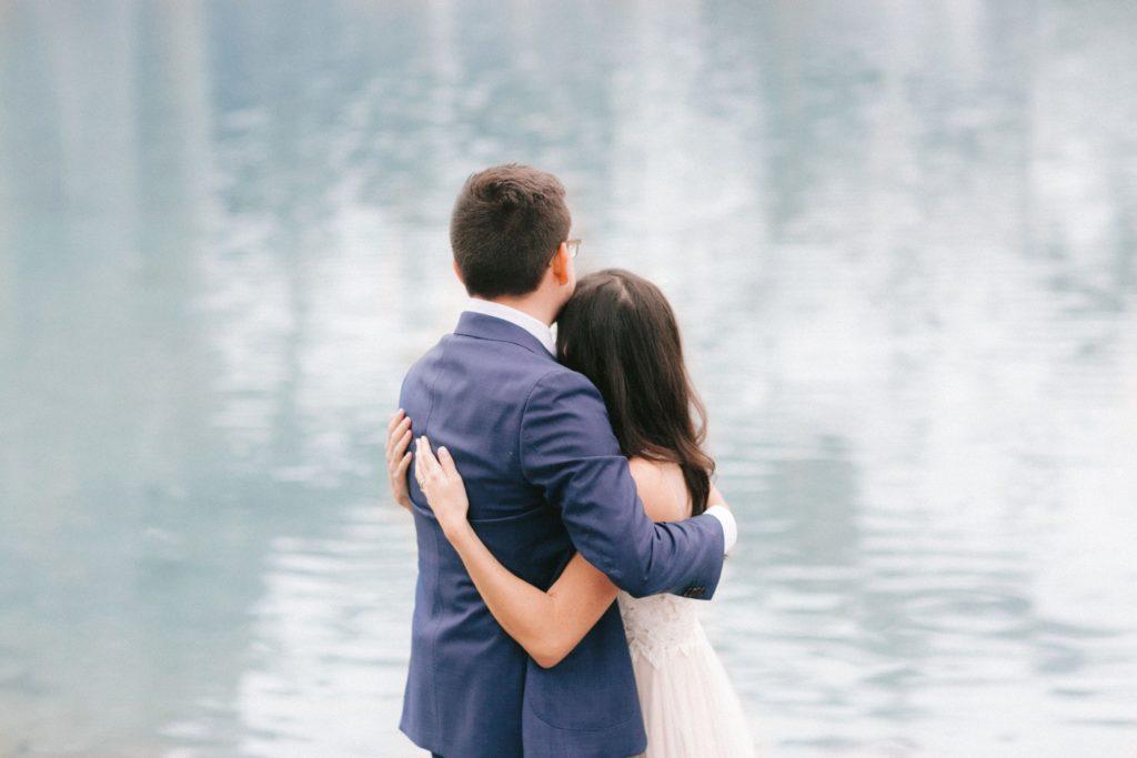 An intimate wedding ceremony