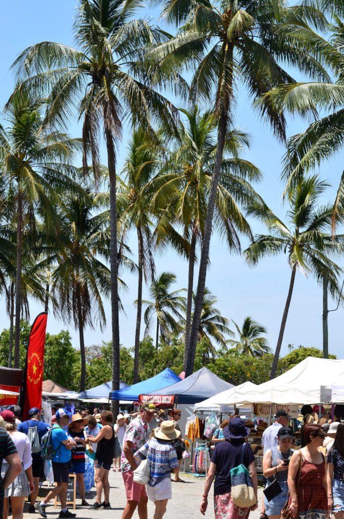 Marché à Port Douglas