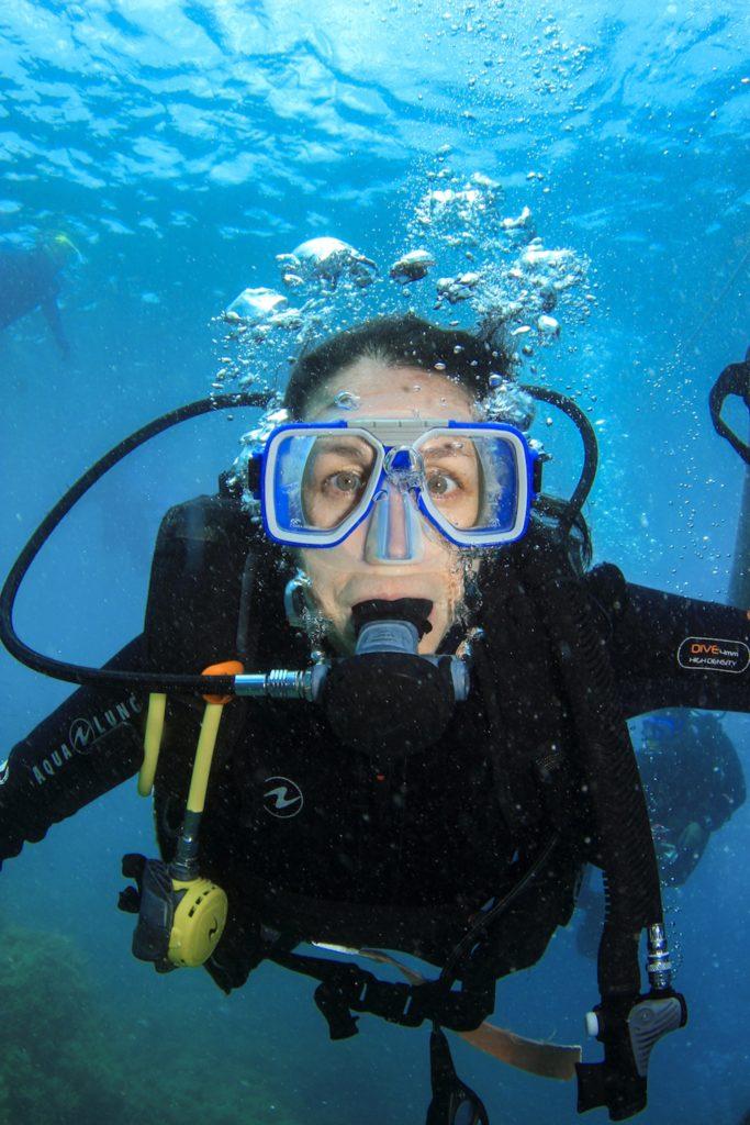 Plongée à la grande barrière de corail