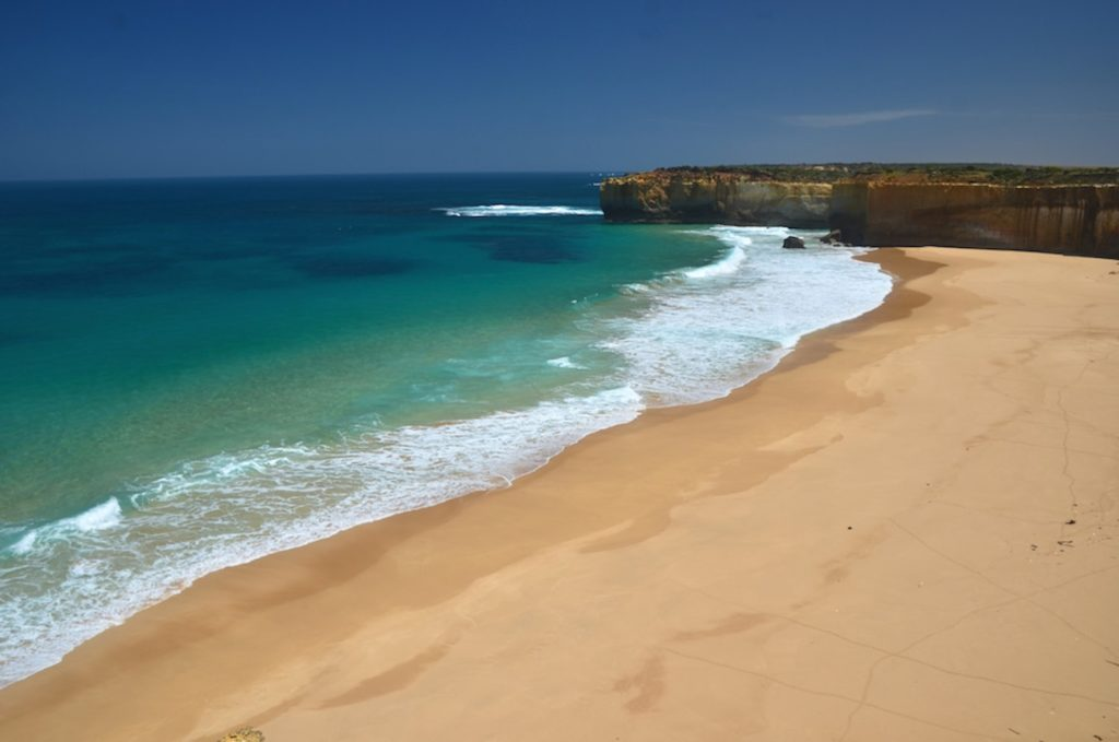 Plage sur la Great Ocean Road