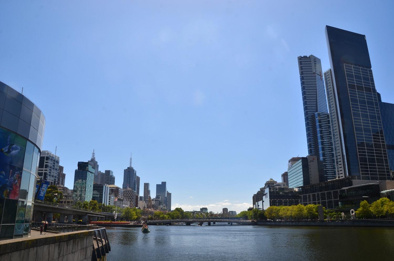 Melbourne et ses immeubles
