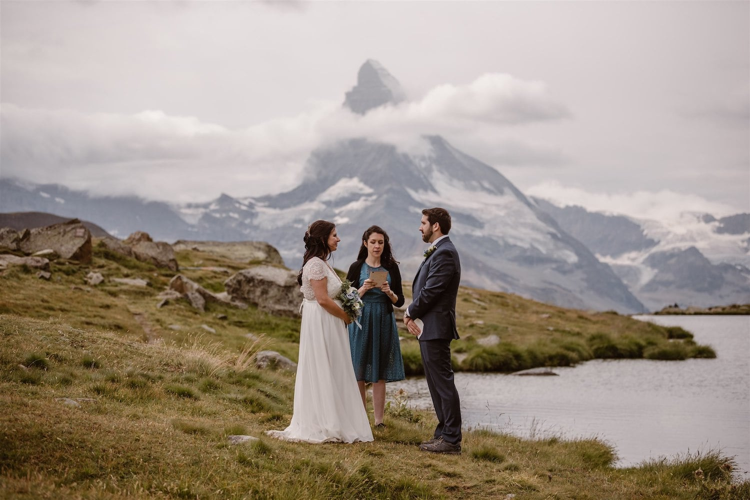 A summer elopement in Zermatt, Switzerland