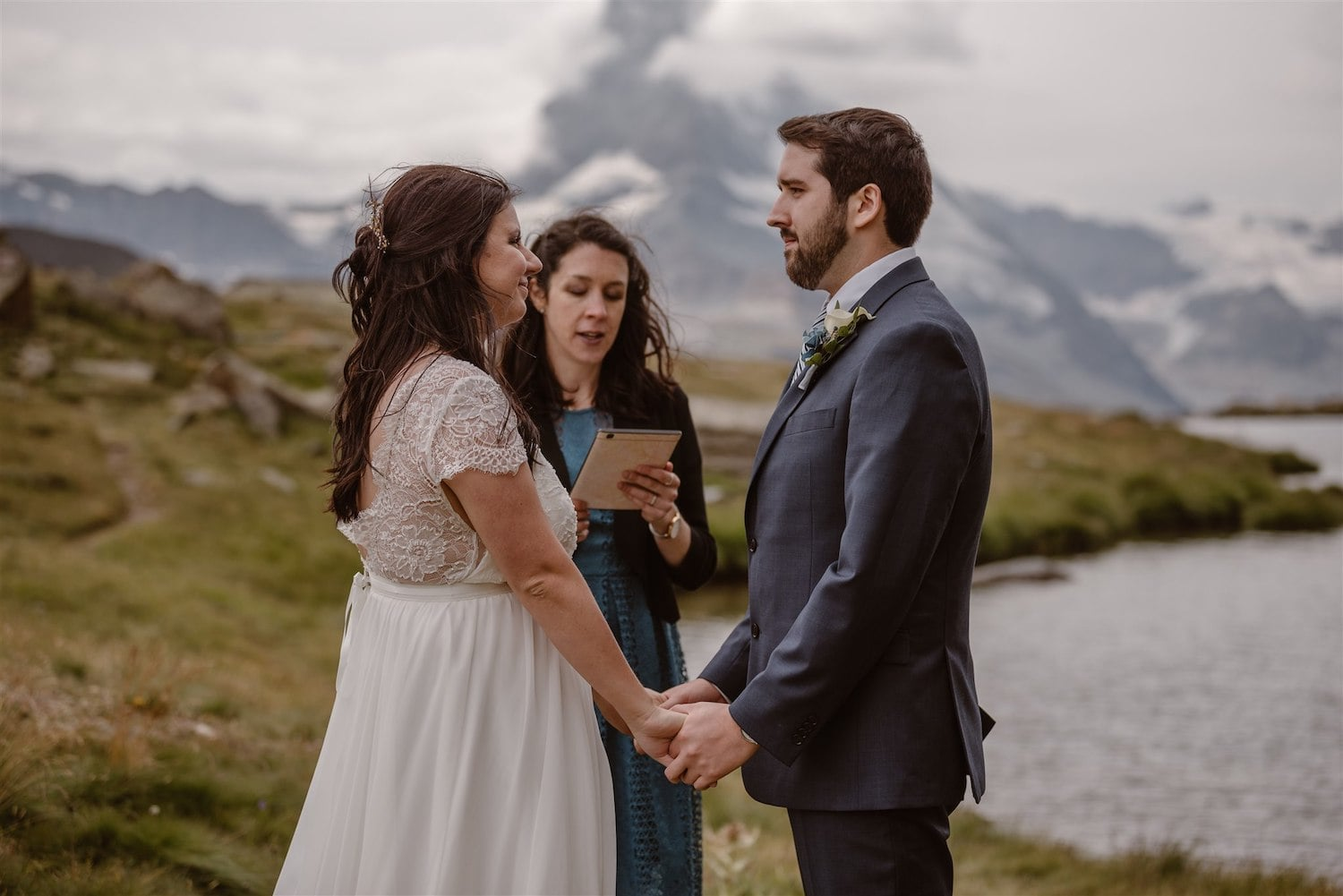 Elopement ceremony in Zermatt with Marylin Rebelo