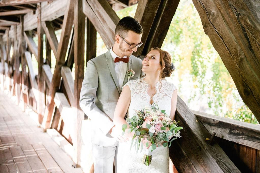 mariage en valais de Marion et Marc
