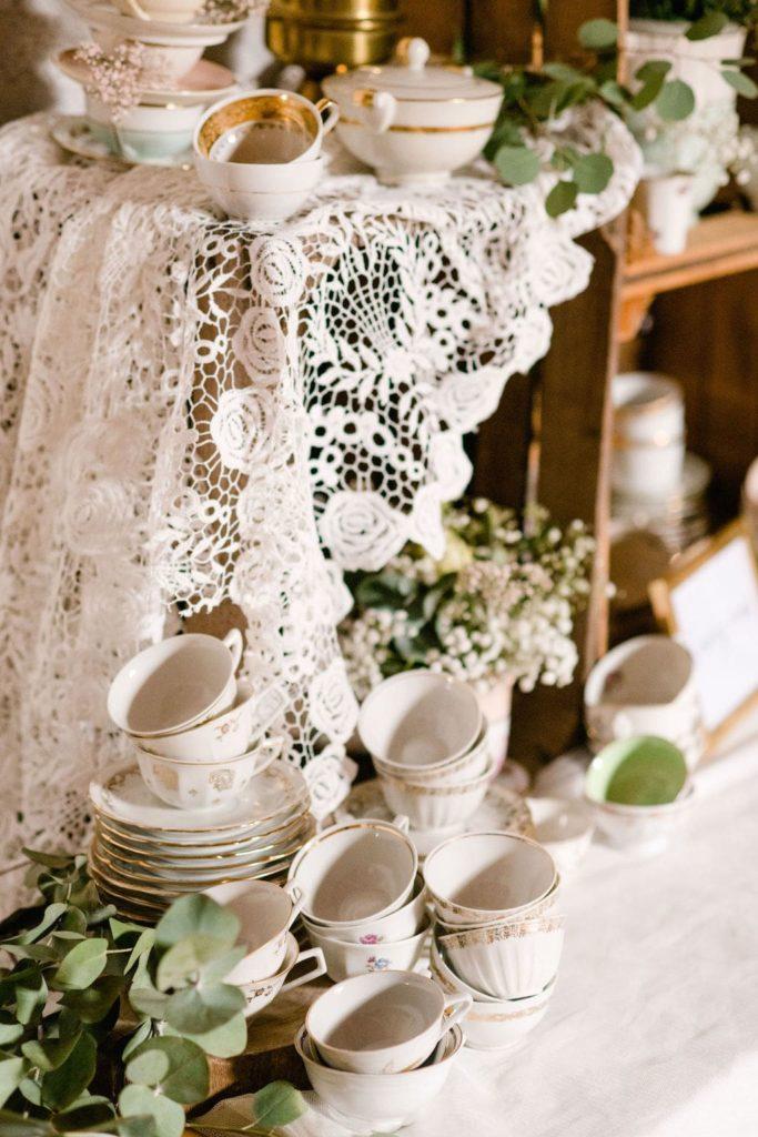 vaisselle de mariage
