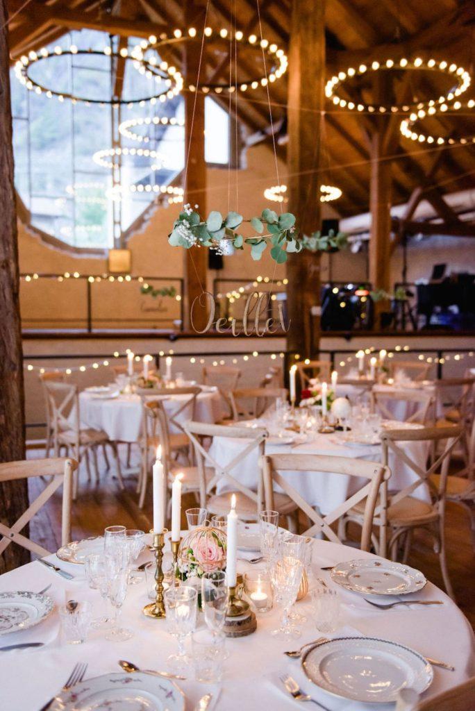 Table de mariage éco-responsable