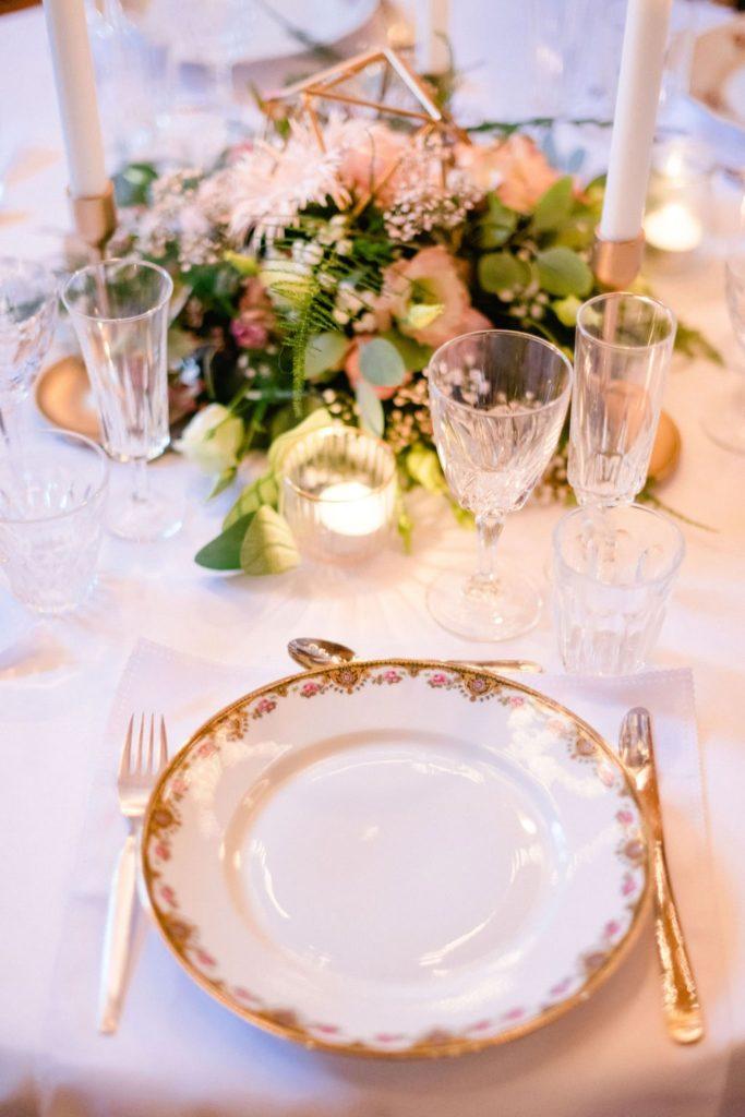 vaisselle de mariage éco-responsable