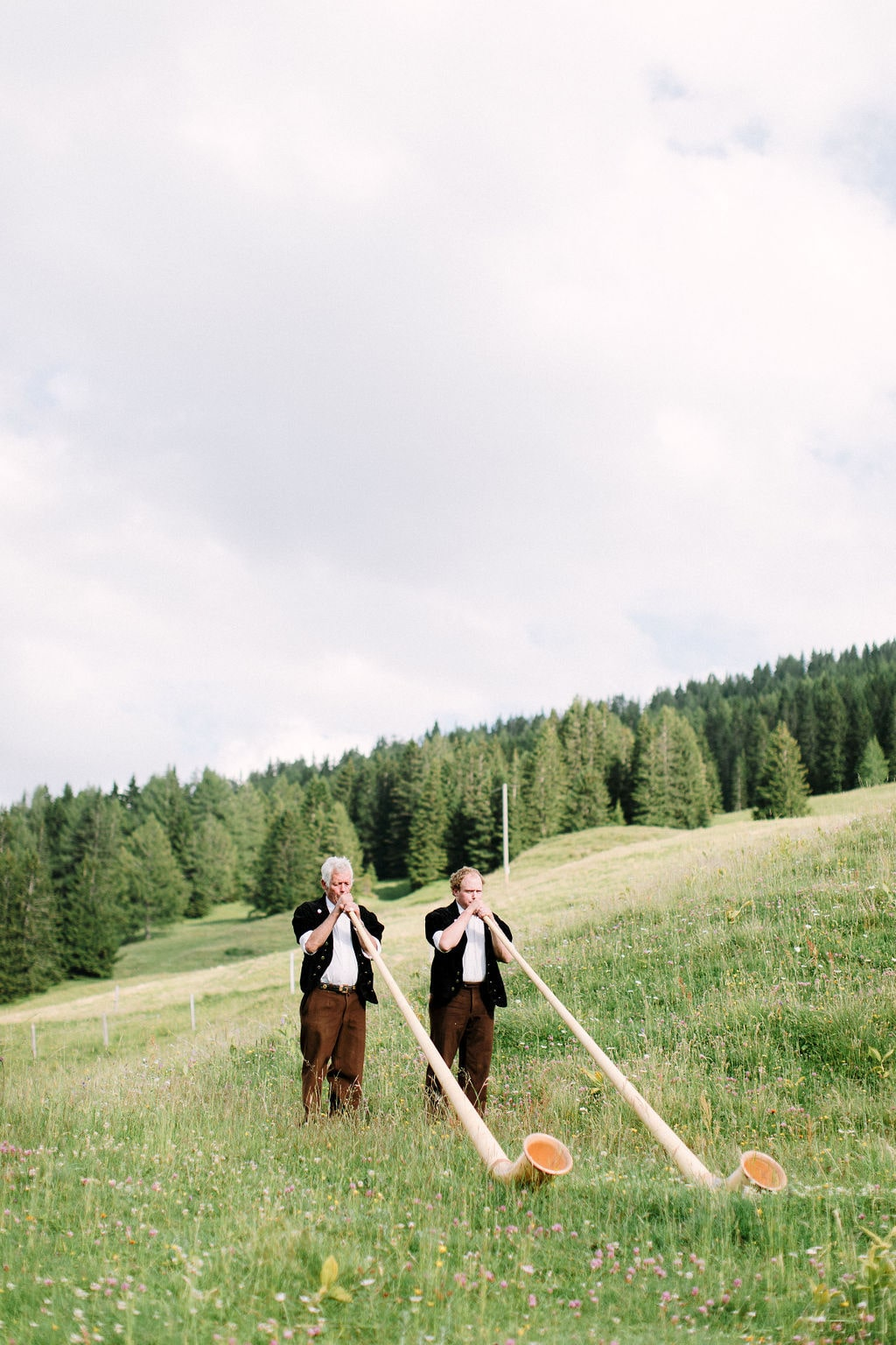 typical swiss elopement